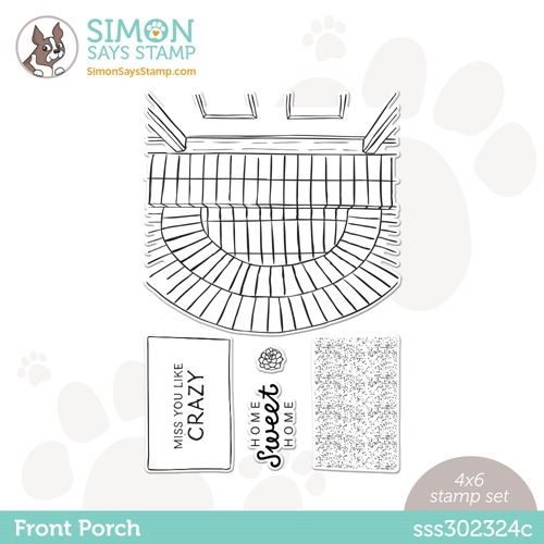 Simon Says Clear Stamps FRONT PORCH sss302324c All The Feels Preview Image