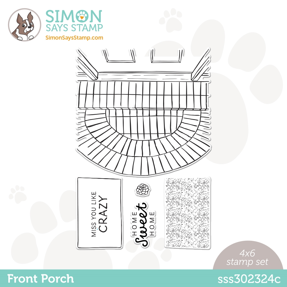 Simon Says Clear Stamps FRONT PORCH sss302324c All The Feels zoom image
