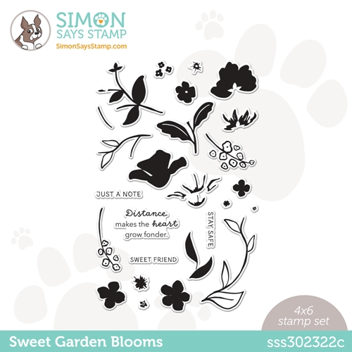 Simon Says Clear Stamps SWEET GARDEN BLOOMS sss302322c All The Feels Preview Image