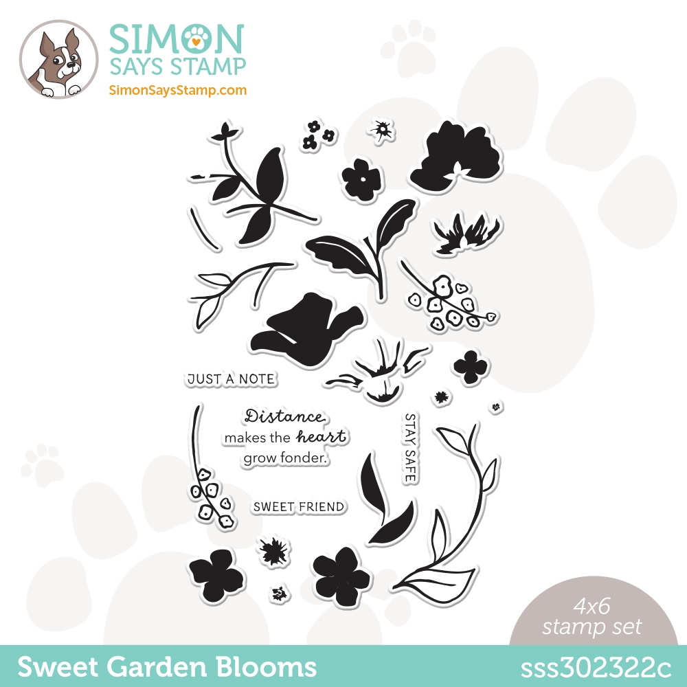 Simon Says Clear Stamps SWEET GARDEN BLOOMS sss302322c All The Feels zoom image