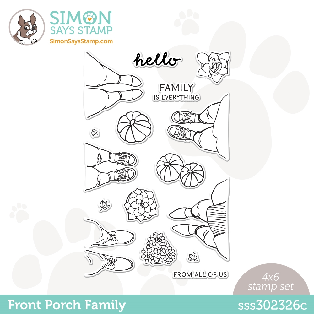Simon Says Clear Stamps FRONT PORCH FAMILY sss302326c All The Feels zoom image