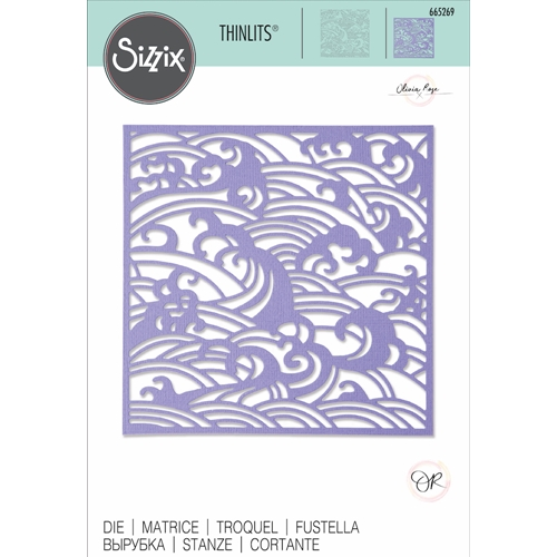 Sizzix MYSTICAL SEASCAPE Thinlits Die 665269* Preview Image