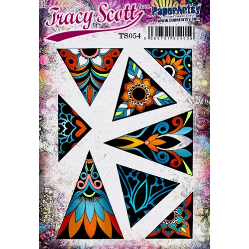 Paper Artsy TRACY SCOTT 54 Cling Stamp ts054 Preview Image