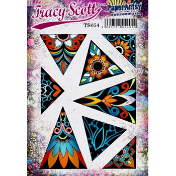 Paper Artsy TRACY SCOTT 54 Cling Stamp ts054