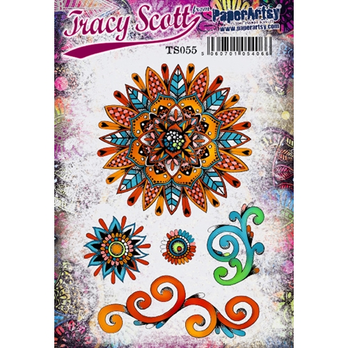 Paper Artsy TRACY SCOTT 55 Cling Stamp ts055 Preview Image