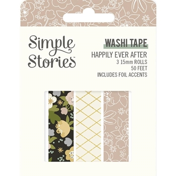 Simple Stories HAPPILY EVER AFTER Washi Tape 15524