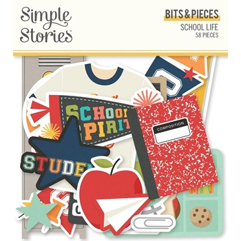 Simple Stories SCHOOL LIFE Bits And Pieces 14916
