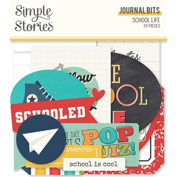 Simple Stories SCHOOL LIFE Journal Bits And Pieces 14917