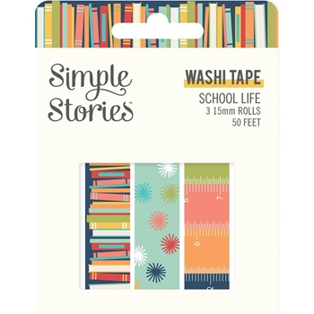 Simple Stories SCHOOL LIFE Washi Tape 14924