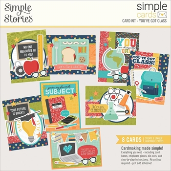 Simple Stories YOU'VE GOT CLASS Card Kit 14929