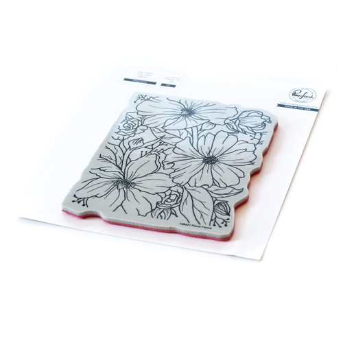 PinkFresh Studio FLORAL FOCUS Cling Stamp Set 108421 Preview Image