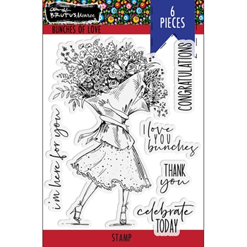 Brutus Monroe BUNCHES OF LOVE Clear Stamps bru4093