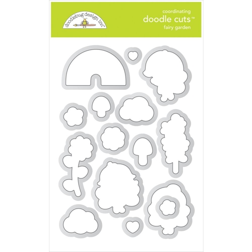 Doodlebug FAIRY GARDEN Doodle Cuts Dies 7212 Preview Image