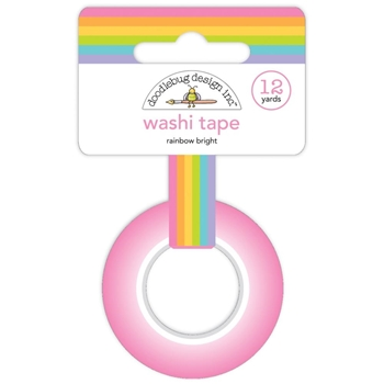 Doodlebug RAINBOW BRIGHT Washi Tape 7198