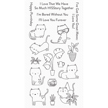 My Favorite Things HOUSECATS Clear Stamps cs554