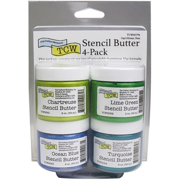 The Crafter's Workshop CARRIBEAN Stencil Butter Set tcw9074
