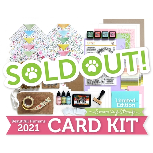 Limited Edition Simon Says Stamp Card Kit BEAUTIFUL HUMANS 2021 Mother sssbhck Preview Image