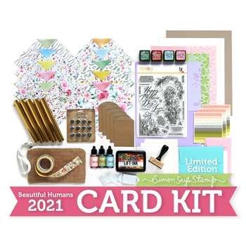 Limited Edition Simon Says Stamp Card Kit BEAUTIFUL HUMANS 2021 Mother sssbhck