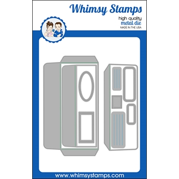 Whimsy Stamps SLIMLINE ENVELOPE BUILDER Dies WSD525