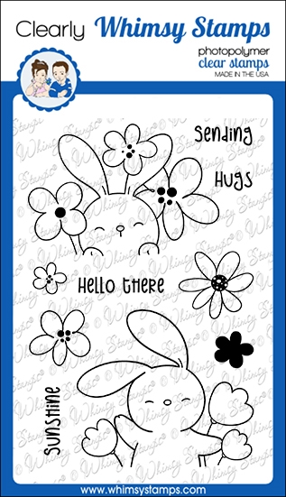 Whimsy Stamps SENDING SUNSHINE Clear Stamps CWSD225a zoom image