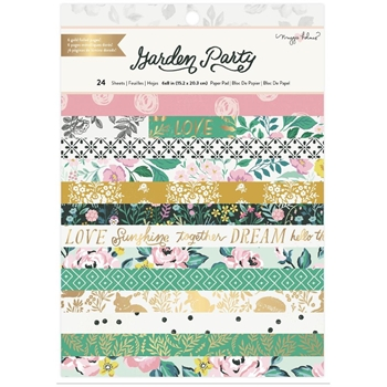 American Crafts Maggie Holmes GARDEN PARTY 6 x 8 Paper Pad 34004894