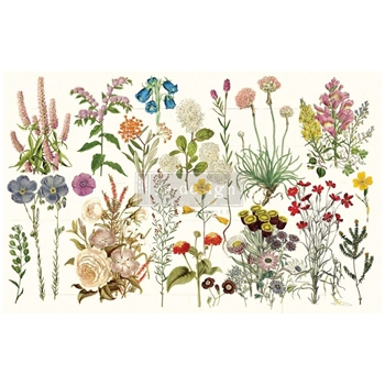 Prima Marketing WILD HERBS ReDesign Decoupage Tissue 650773