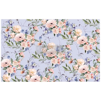 Prima Marketing LAVENDER FLEUR ReDesign Decoupage Tissue 652319