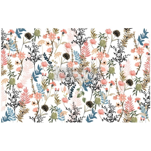 Prima Marketing PRETTY MEADOWS ReDesign Decoupage Tissue 652357 Preview Image