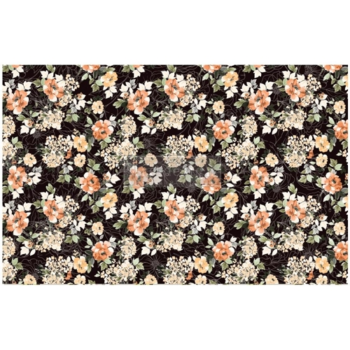 Prima Marketing MIDNIGHT AMBER ReDesign Decoupage Tissue 652401 Preview Image