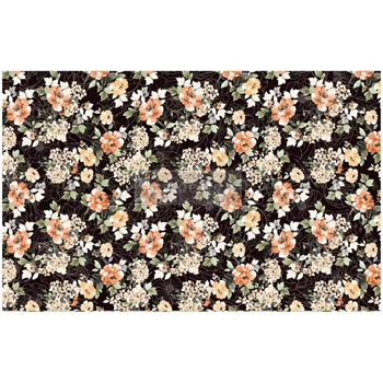 Prima Marketing MIDNIGHT AMBER ReDesign Decoupage Tissue 652401