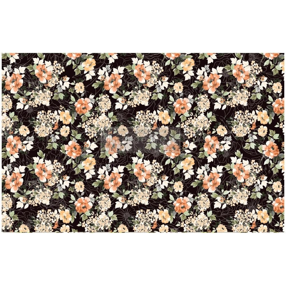 Prima Marketing MIDNIGHT AMBER ReDesign Decoupage Tissue 652401 zoom image