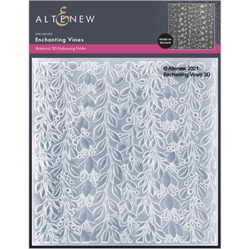 Altenew ENCHANTING VINES 3D Embossing Folder ALT6051
