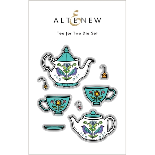 Altenew TEA FOR TWO Dies ALT6044 Preview Image