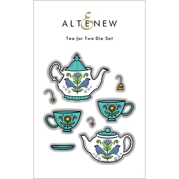 Altenew TEA FOR TWO Dies ALT6044