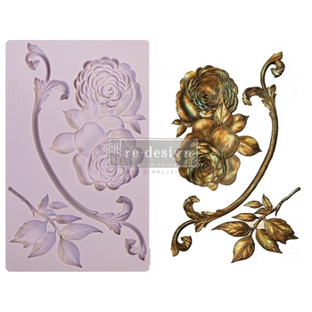 Prima Marketing VICTORIAN ROSE ReDesign Decor Mould 648152