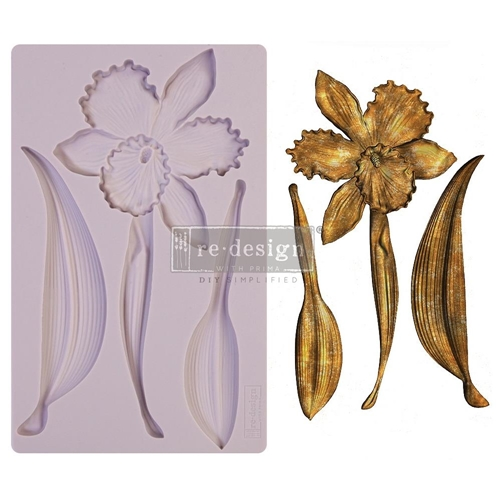 Prima Marketing WILDFLOWER ReDesign Decor Mould 650513 Preview Image