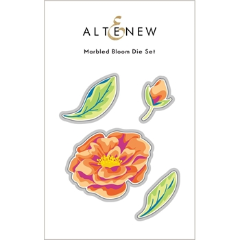 Altenew MARBLED BLOOM Dies ALT6034