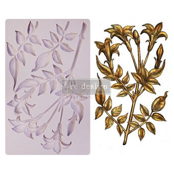 Prima Marketing LILY FLOWERS ReDesign Decor Mould 650483