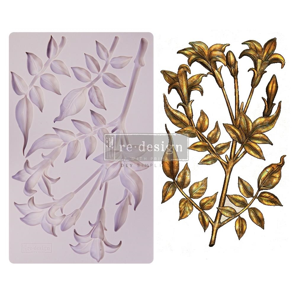 Prima Marketing LILY FLOWERS ReDesign Decor Mould 650483 zoom image