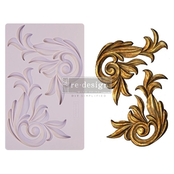 Prima Marketing ANTIQUE SCROLLS ReDesign Decor Mould 650414