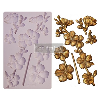 Prima Marketing BOTANICAL BLOSSOMS ReDesign Decor Mould 650445