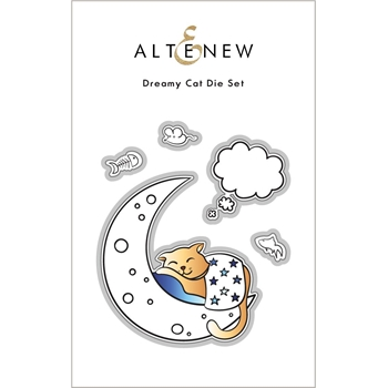 Altenew DREAMY CAT Dies ALT6023