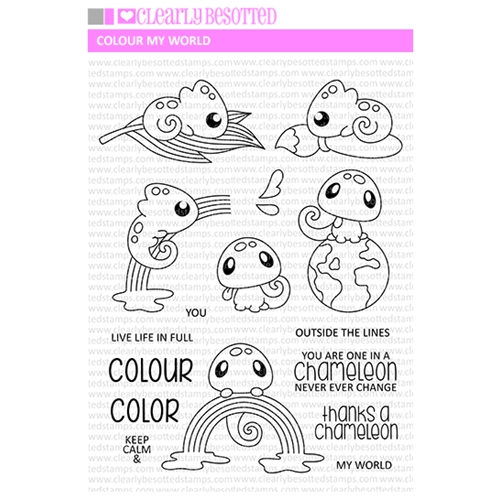 Clearly Besotted COLOUR MY WORLD Clear Stamps Preview Image