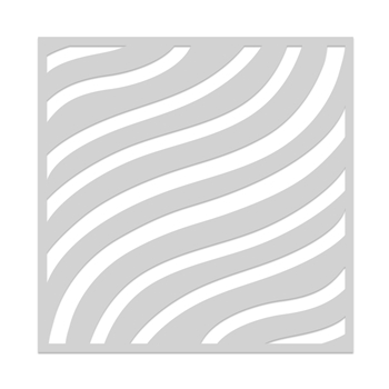 Hero Arts Stencil FLOWY STRIPES SA161