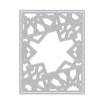 Hero Arts Fancy Cuts Die GEOMETRIC SUN Cover Plate DI882