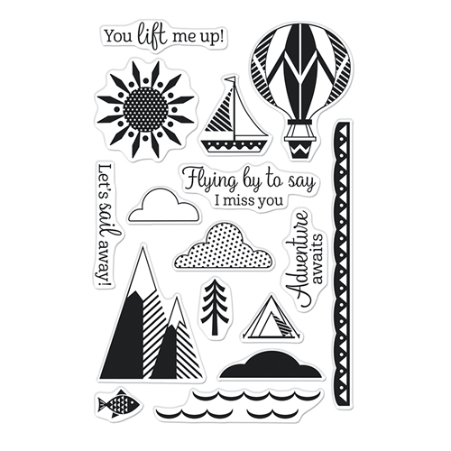 Hero Arts Clear Stamps YOU LIFT ME UP CM527 Preview Image