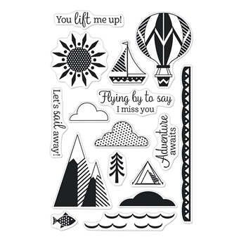 Hero Arts Clear Stamps YOU LIFT ME UP CM527