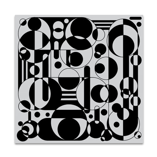 Hero Arts Cling Stamp CIRCLES AND CYLINDERS BOLD PRINTS CG841 Preview Image