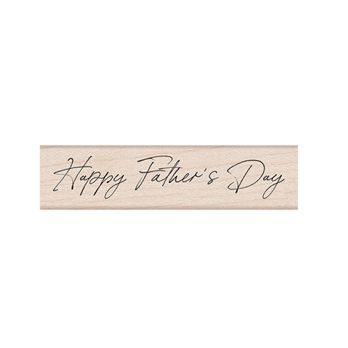 Hero Arts Rubber Stamp HANDWRITTEN FATHER'S DAY C6464 Preview Image