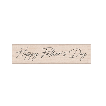 Hero Arts Rubber Stamp HANDWRITTEN FATHER'S DAY C6464